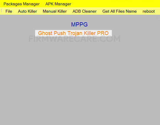 Ghost Push Trojan Killer Pro