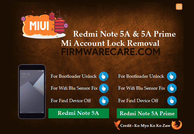 Mi Account Lock Removal Tool
