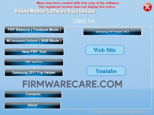 OMS Tool v4 - Best Android FRP Tool collection 2019