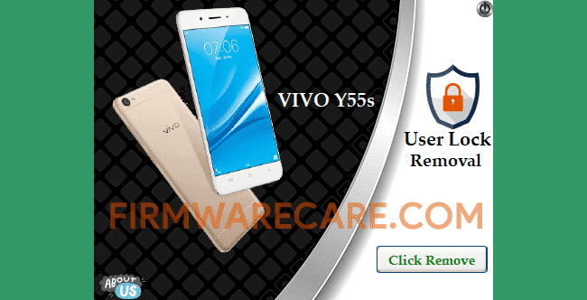 Vivo Y55S User Lock Removal