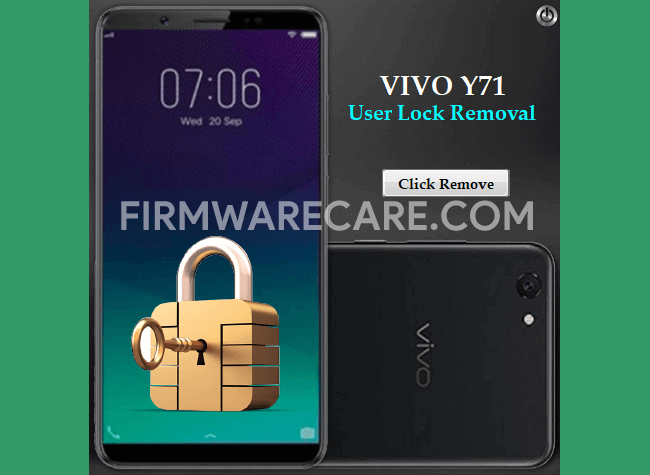 Vivo Y71 User Lock Removal